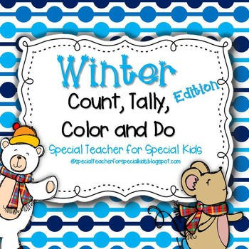 WINTER Color, Count, Tally and Do- Instant and Interactive Math
