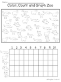 Color, Count and Graph: ZOO Animals