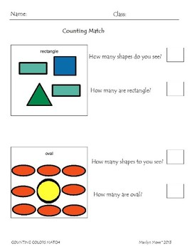 Color Count and Match