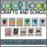 Color Crafts and Songs for Preschool and Kindergarten