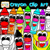 Color Crayon Clip Art {Mrs. Johnson's Alphabet Soup}
