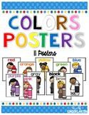 Color Crayon Kids Posters Classroom Decor
