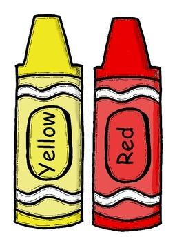 Color Crayon Posters