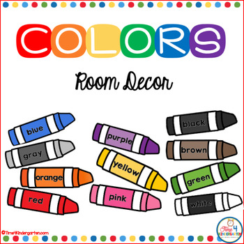 Color Crayons Posters