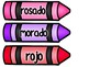 Color Crayons in Spanish and English