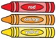 Color Crayons - lowercase