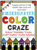 Color Craze - A Kindergarten Color Unit