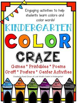 Color Craze - A Kindergarten Color Unit