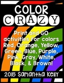 Colors and Color Words Bundle