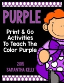 The Color Purple Printables