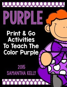 The Color Purple Printables