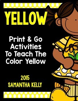The Color Yellow Printables