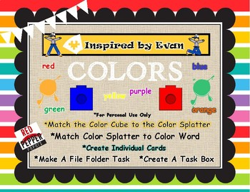 Color Cube Matching for Autism