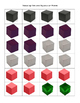 Color Cubes- Balncing Chemical Equations