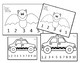 Color, Cut & Sequence Number Puzzles