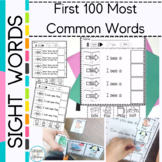 Sight Word Sentence Activities Color,Cut and Glue Kindergarten