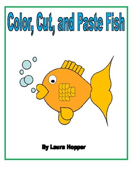 Color, Cut, and Paste Fish