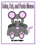 Color, Cut, and Paste Mouse Craft