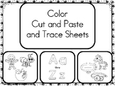 Color Cut and Paste Sheets