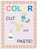Color, Cut and Paste