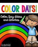 Color Day Activities for Little Learners