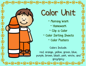 Color Days Unit