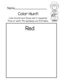 Color Detectives (Color Scavenger Hunt)