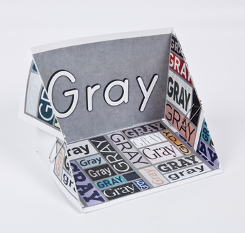Color Display Case: Gray