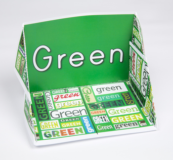 Color Display Case: Green