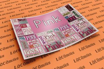 Color Display Case: Pink