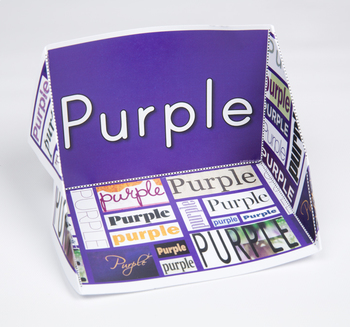 Color Display Case: Purple