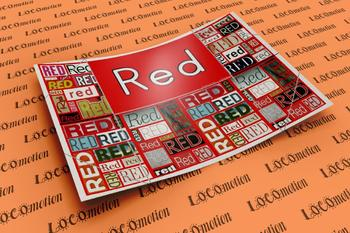 Color Display Case: Red