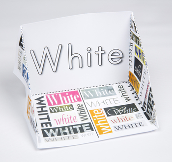 Color Display Case: White
