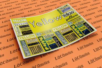 Color Display Case: Yellow