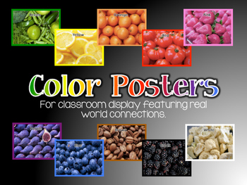 Color Display Posters (English)