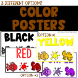 Color Display Posters - Half Size