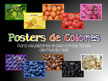Color Display Posters (Spanish)
