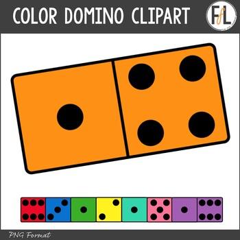 Color Domino Clipart