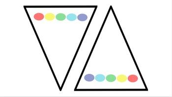 Color Dot Flag- Editable