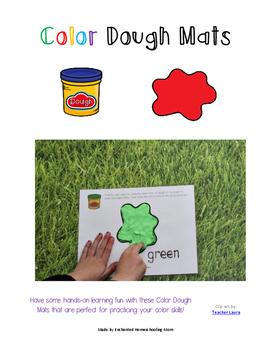 Color Dough Mats