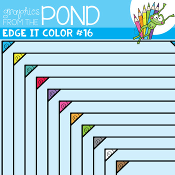 Color Edge It Frames Set 16