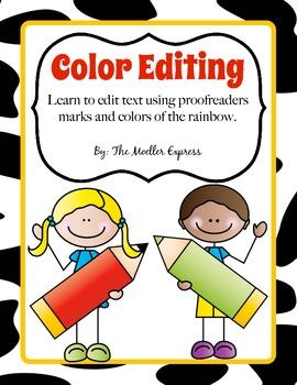 Color Editing, Proofreaders Marks, Writers Workshop