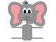 Color Elephant Clip Art