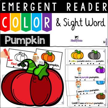 Color Emergent Reader BUNDLE for Kindergarten