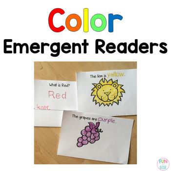 Color Emergent Reader Books