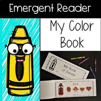 Color Emergent Reader - My Color Book