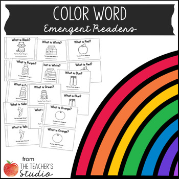 Color Word Emergent Readers!