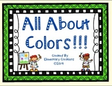 Color Emergent reader and more!