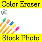 Color Eraser Stock Photo