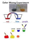 Color Experiment Worksheet